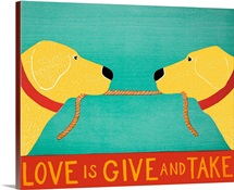 Love Is Give And Take - Yellow