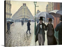Paris Street, A Rainy Day
