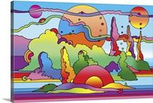 Pop Art Landscape
