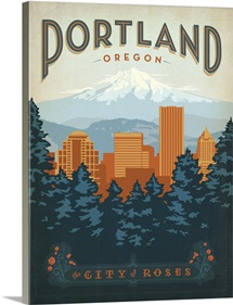 Portland, Oregon: City of Roses