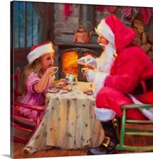 Santa Tea For Two