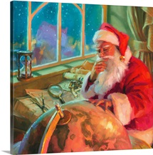 Santa World Traveler