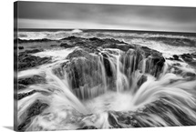Thors Well - Black and White