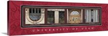Utah - University of Utah Campus Letters