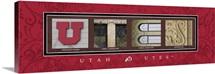 Utes - University of Utah Campus Letters