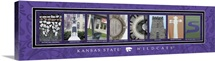 Wildcats - Kansas State University Campus Letters