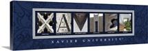 Xavier - Xavier University Campus Letters
