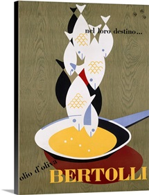 Bertolli, by Carboni, Vintage Poster
