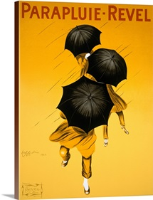 Parapluie Revel, 1922,Vintage Poster, by Leonetto Cappiello