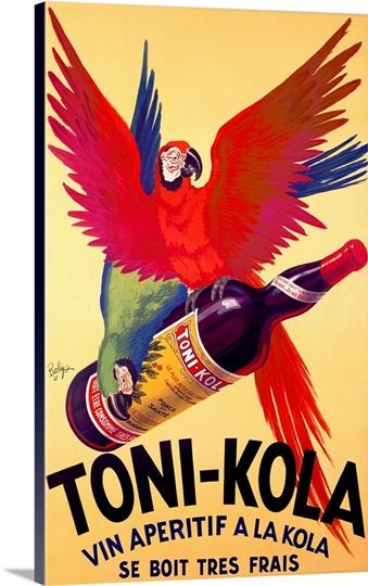 Toni Kola, Vintage Poster, by Robert Wolff