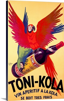 Toni Kola,Vintage Poster, by Robert Wolff