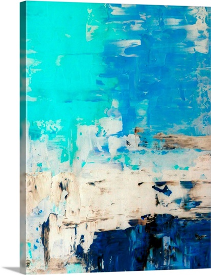 opposite abstract painting photo canvas print great big