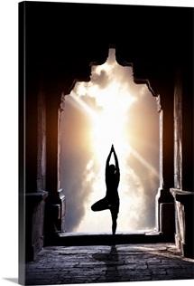 Yoga In Temple
