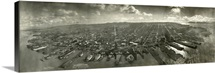 Vintage photograph of San Francisco in Ruins After  the 1906 Earthquake