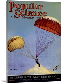 Popular Science Cover, January  1927