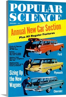 Popular Science Cover, January  1959