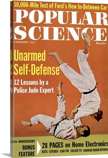 Popular Science Cover, March 1962