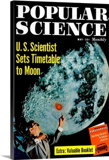 Popular Science Cover, May  1958