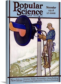 Popular Science Cover, November 1928