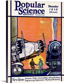 Popular Science Cover, November 1929