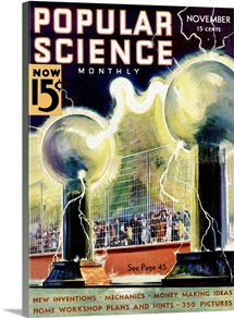 Popular Science Cover, November 1936
