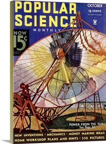 Popular Science Cover, October  1934
