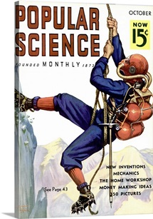 Popular Science Cover, October  1936