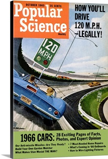 Popular Science Cover, October  1965