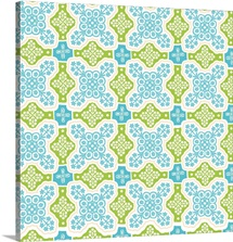 BloomTropic - Plumeria Tile - Square