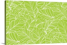 BloomTropic - Tropical Leaves - Horizontal