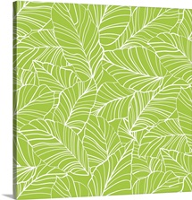 BloomTropic - Tropical Leaves - Square