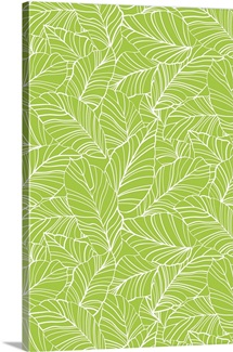 BloomTropic - Tropical Leaves - Vertical