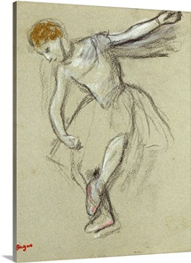 A Dancer in Profile (chalk)