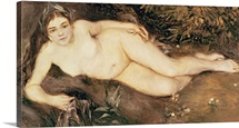 A Nymph by a Stream, 1869 70 (oil on canvas)