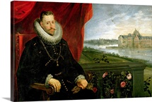 Albert of Habsbourg (1559 1621) Archduke of Austria (oil on canvas) (pair of 197173)