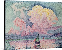 Antibes, the Pink Cloud, 1916 (oil on canvas)