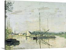 Argenteuil, 1872 (oil on canvas)