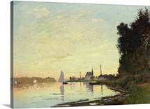 Argenteuil, Late Afternoon, 1872 (oil on canvas)