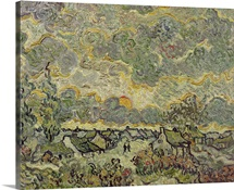 Autumn landscape, 1890 (oil on canvas)