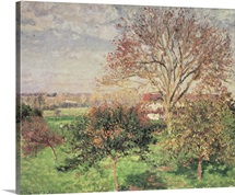 Autumn morning at Eragny, 1897 (oil on canvas)
