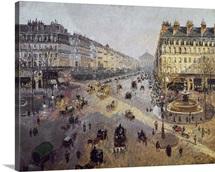 Avenue de l'Opera in Paris