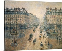 Avenue de LOpera, Paris, 1898