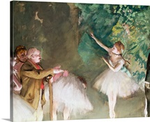 Ballet Practice, 1875 (gouache and pastel on paper)