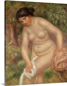 Bather drying herself, 1895 (oil on canvas)