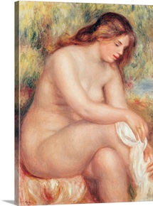 Bather Drying Herself, c.1910 (oil on canvas)