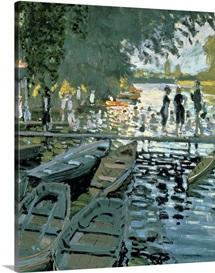 Bathers at La Grenouillere, 1869