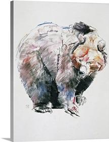Bear (charcoal