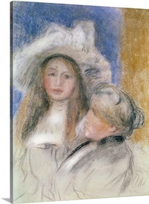 Berthe Morisot (1841 95) and her Daughter Julie Manet (1878 1966) (pastel on paper)