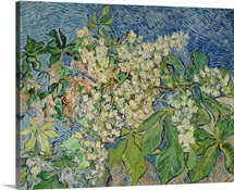 Blossoming Chestnut Branches, 1890 (oil on canvas)