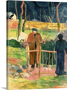 Bonjour, Monsieur Gauguin, 1889 (oil on canvas)